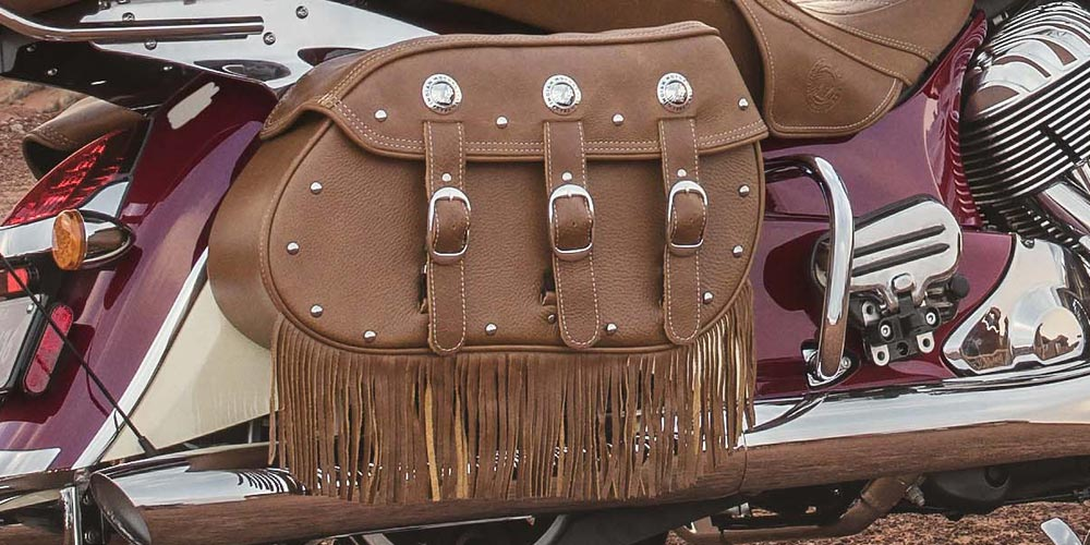 GENUINE LEATHER SADDLEBAGS