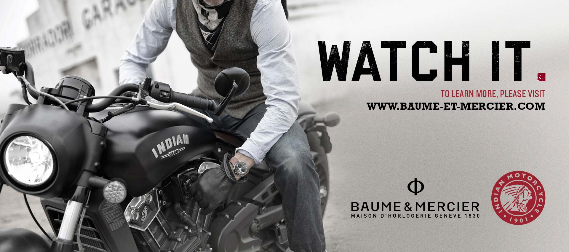 Indian Motorcycle & Baume et Mercier